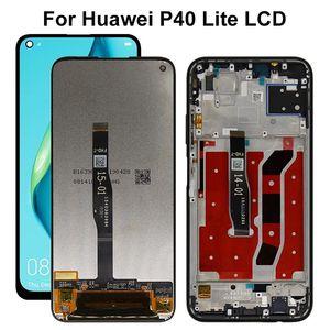6.4 pulgadas para Huawei P40 Lite LCD de pantalla táctil Nova 6SE 10 toque las piezas de repuesto de pantalla para Huawei P40 Lite Display