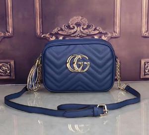 Womans New Saddle Bag Couro Real Handbag Oblique Bolsas de Ombro Designers Crossbody Messenger Bags Carteira sacos cristãos de Mulheres bolsa A097