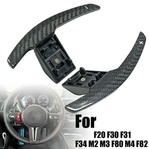 Carbon Fiber Steering Wheel Paddle Extension Shifter For-BMW F20 F30 F31 F34 M2 M3 F80 M4 F82