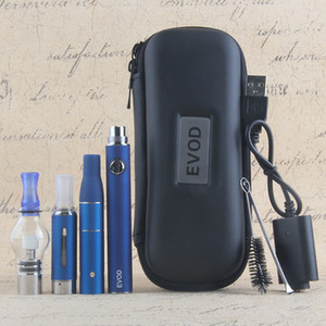 3in1 Vape Kit evod battery Mini ago dry herb atomizer mt3 eliquid cartridge wax globe glass tank electronic cigarette vapors all in 1
