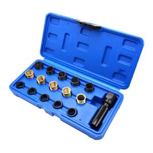 16pcs M14x1.25 Screw Thread Repair Tools Set M14 Cylinder Head Helicoil for Car Auto Special Repair Tools
