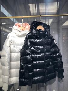 Bayan Aşağı Ceket Parkas Moda Kadınlar Kış Ceket 90% Kaz Bayanlar Ceket Doudoune Femme Beyaz Siyah Palto Hoodies Giyim Hood ile