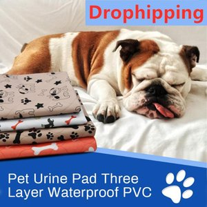 Waterproof Pet Pee Pads Mat Dog Bed For Dog Urine Pads Puppy Pee Pad Reusable Cooling Mat Pet Diaper Urine Pads#3