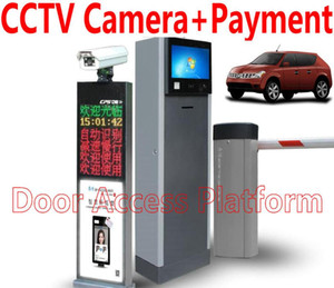 CCTV Camera+Auto-Payment VLPR 1 CCTV Camera Reader+1 Barrier gate Car Parking system Car Vehicle License Automatic Payment