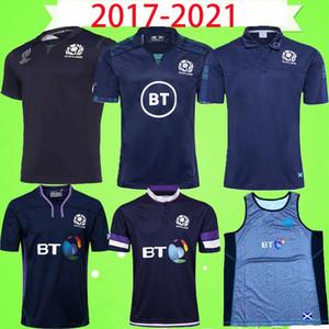 Mens 2017-2020 Scotland Rugby League JERSEY do vintage nacional de rugby da equipe camisa azul League retro POLO T-shirt da qualidade MEN S Palavra Cup Top