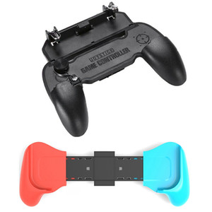 Extend Protective Cover Bracket Handle Grip Base Stand with W11+ PUBG Mobile Game Controller Handle Joystick Gamepad