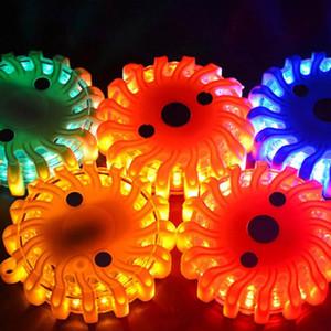 LED Traffic Light Предупреждения Сильного магнитной безопасности дорожного Flare мигалка лампа светофор