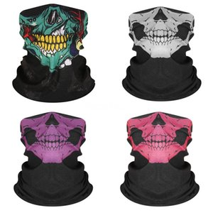 Schicht-Gesichtsmasken Earloops Home Use Komfortable Mouth Ski Mask Designer Printed Black # 305