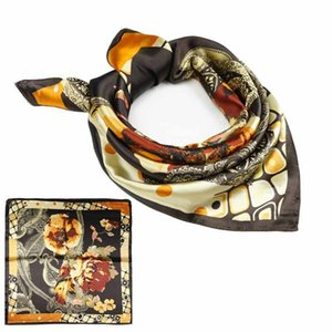 fashion printing scarves quick sale Amazon high quality scarf imitation silk scarf clothing accessories gift woman