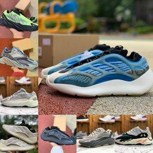 700 MNVN Orange Running Mens Women Shoes Cheap Vanta 700 V3 Alvah Azael Azareth Inertia Kanye West Milky Magnet V2 Alien Designer Sneaker