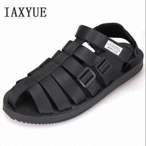 Ancient Roman Sandals Men Beach Shoes Baotou Cool Male Han Edition Leisure Shoes The New 2018 Summer Size 36 44 Sandals For Girls Chac HzEz#
