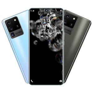 S20 Ultra Cross-Border New 6.8-inch Android Smartphone with a Large Screen 1+8GB Memory Dual SIM Card real punch screen Android Phone 4Core