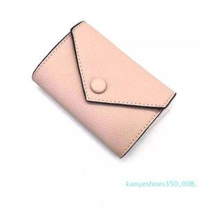 k08 2020 Wholesale leather wallet for womens multicolor designer short wallet Card holder women purse classic zipper pocket Victorine