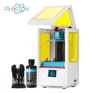 طابعة 3D فوتون S المزدوج Z شاشة تعمل باللمس طباعة 405NM الأشعة فوق البنفسجية الراتنج 3D طابعة LCD Impresora فوتون-S ترقية UV وحدة Anycubic