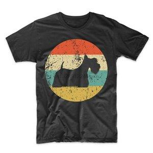 Shirt écossais Terrier - Rétro Scottie Hommes T-shirt - Icône chien shirt classique unique T-shirt