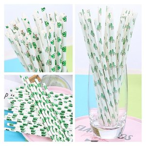 Home 50pcs 25 Party Birthday For Coffe Bar Straw Straws Wedding Summer Disposable Beer Drinking Paper Juice Supplies nJhnj bdesports