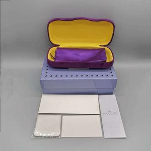 NEW GLASSES ORIGINAL BOXES CASE SUNGLASSES EYEGLASSES bag and case OPTICAL HARD BROWN CASE