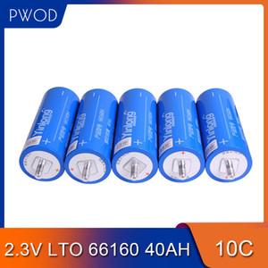 Livraison gratuite 2.3V 66160 40Ah 35Ah 30Ah LTO Batterie Lithium Titanate de pile pour le bricolage 12V 24V 36V 48V 60V Paquet