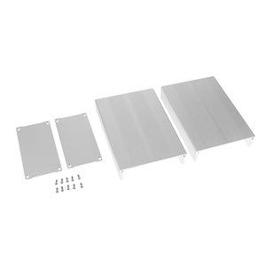 Extrusionado de aluminio plana carcasa de la caja del caso para el proyector