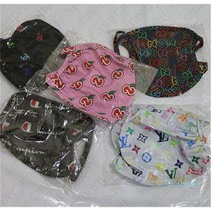 Desenhador Mulheres Homens respirável Branded Máscaras Letters Máscara protectora da impressão Unisex reutilizável