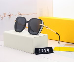 Luxury Desinger Sunglasses with Stamp UV400 Full Frame Sun glasses for Women Men Fashion Accessories High Quality F061