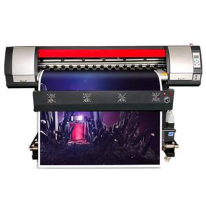 xp600 التسامي كبير آلة الطباعة 6 أقدام الفينيل ملصقا طابعة واحدة تتجه لوحة كبيرة آلة الطباعة