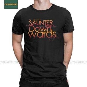 Hayır So Much Güz Good Omens T Gömlek Crowley Tarifsiz Git David Melek Pamuk mü Erkekler Bir Melek Tees Yeni Geliş Tişörtler Tops