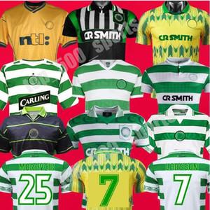 1995 1997 1998 1999 Celtic Retro Soccer Jerseys 1980 2005 05 06 94 95 96 97 98 99 00 01 02 Chemise de football Brown Forrest Christie Uniforme