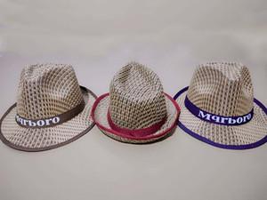 UyhCE verano té recoger los agricultores de protección solar del sol del recorrido del vaquero occidental en forma de hierba de papel de té de paja sombrero de paja de los hombres y de las mujeres sombrero de playa