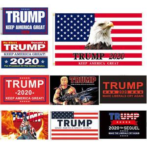 3x5ft Trump Flag President Election 2020 Keep America Great Banners Digital Print Donald Trump Flag 24style HHA1596