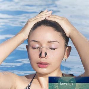 3PCS unisex tapones para los oídos pinza en la nariz Natación impermeable clip de la nariz de silicona suave tapones para los oídos Set Surf Buceo Piscina Accesorios Nuevo