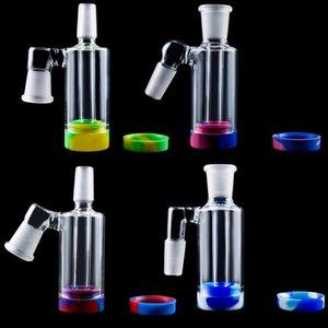 Love_E_Cig P045 Glas Aschfänger 4-Modelle, Glas, Wasser Bongs Rauchen Handpfeifen Rauchen Zubehör Silicon Jar Aschfänger