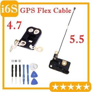 Origina Gps Flex кабель для Iphone 4 6S +0,7 6s Plus 5 0,5 Gps сигнала Антенна Flex ленточный кабель Ремонт 1шт части / серия