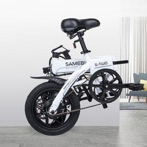 """Faltendes Fahrrad Moped Electric Bike E-Bike 14 """"Aluminiumlegierung Rahmen Mountain Road Bike faltbares elektrisches Fahrrad einfach zu tragen"""
