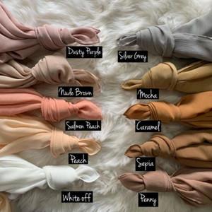Nueva arruga burbuja gasa hijab bufanda mantones de la manera musulmán envolturas de civil venda de las bufandas de largo / bufanda el 180 * 70cm 10pc / lot