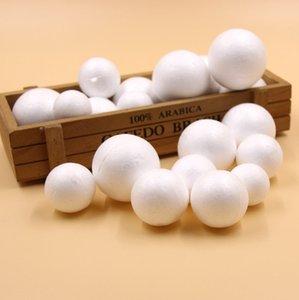 4size 20PCS مزيج 30/35/40 اللوازم / 45MM DIY الأبيض رغوة نمذجة البوليستيرين الستايروفوم الكرة للأطفال هدية حزب زينة عيد الميلاد كرافت