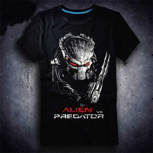3D Film New Aliens Vs Predator 2 Requiem T-shirt Game AVP2 Men T Shirt Cotton Summer Short-sleeve Tees Tops Tee Plus Size 0921