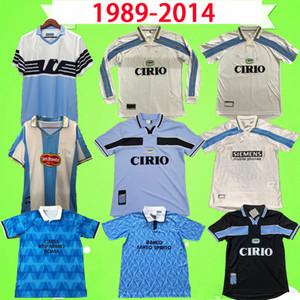 1989-2014 Rétro Latio Soccer Jerseys 1998 1999 2000 Italie Nesta Crespo Salas Mihajlovic Inzaghi Nedved Classic Vintage Football Shirts