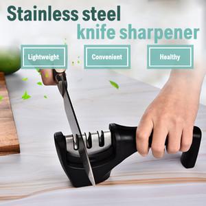 Многофункциональные ножи Точилка для ножей Кухонные инструменты Нож Камень Тип ручной резки Точинки для резки Топочью бытовой Угол Grindstone Триступен