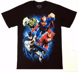 JUSTICE LEAGUE, Superman, Flash, Linterna Verde camiseta NWT