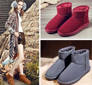Hot sell AUS classical Mini U5854 women snow boots keep warm boot fashion Light skin womens booties winter shoes 13 color can choose