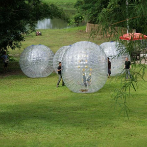 2020 Hot Sale Inflatable Zorb Ball For Outdoor Game 2.5M Human Size Hamster Ball Roller Body Zorb PVC Grass Ball Factory Price