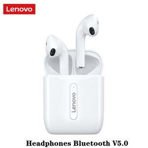 Новый Lenovo X9 HiFi Беспроводные наушники Bluetooth V5.0 гарнитура Сенсорное управление Спорт TWS Earbuds Sweatproof наушники-вкладыши с микрофоном