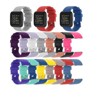 핏 비트 반대로 스마트 시계 교체 방수 팔찌 2 공식 실리콘 스트랩 스마트 시계 액세서리 시계 밴드