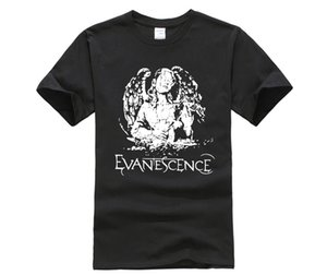 Hsuail Mens Patch T Camicia Evanescence Angelo Tela Phiking Designer