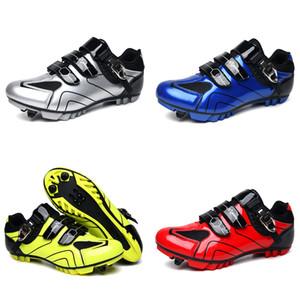 Ayakkabı Erkekler Dağ Bisikleti Sapatilha Ciclismo Mtb Profesyonel Yarış Yol Bisikleti Kadınlar Büyük Beden 37-47 ayakkabıları Cycling