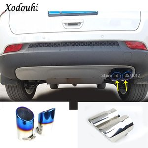 For 2020 2020 Car Body Styling Muffler Exterior End Tip Tail Pipe Outlet Dedicate Stainless Steel Exhaust
