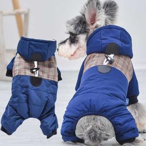 Качество собак Качество картины с капюшоном Pet Dogs Simple Pooks Footner Одежда S до XL Down Snow Bichon Pitbull Cousssuit Товары
