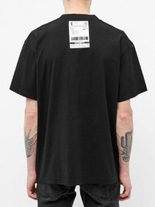 Spring Summer 2020 Luxury Vetements Back Logo Priority Mail Express Patch High Quality Tshirt Fashion Men Women T Shirt Casual Cotton Tee