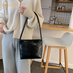 New arrival Hangbag Fashion Women Shoulder Bag Satchel Crossbody Tote Leather Pure Color Shoulder Shopping Bag Casual Totes